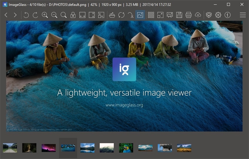 ImageGlass 4.1 is released